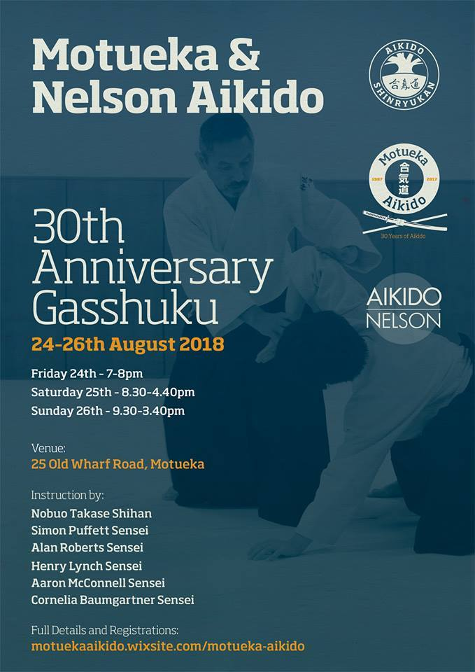 Motueka Aikido August Gasshuku