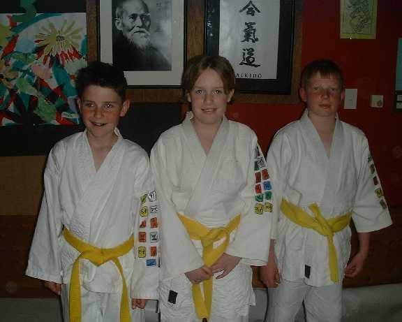 Becoming a Yellow Belt (6 Kyu)
